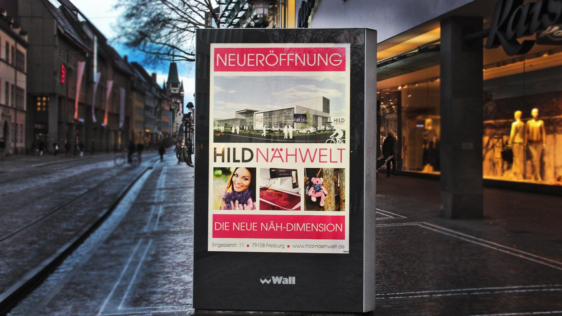 FOTOAUFNAHMEN UNSERER CITY-LIGHTS WERBEPOSTER FÜR HILD - Fotoschau DeWo Werbeagentur Gitti Scharfenberg #1