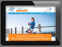 Ansicht Webseite Pfänder Freiburg