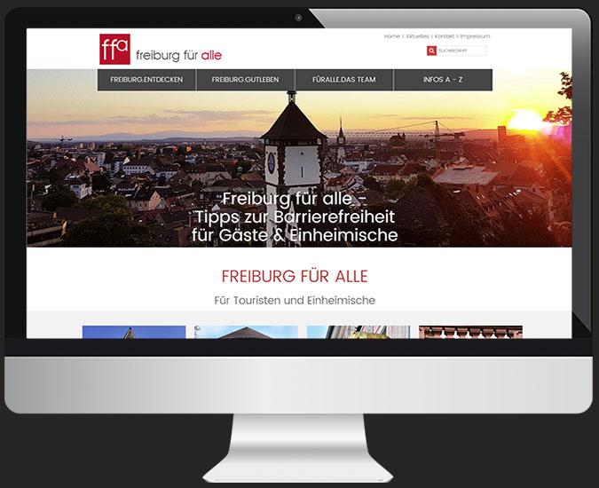 Ansicht Stadtführer Freiburg 2020