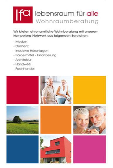Lebensraum und Freiburg für alle Printprodukte by DEWO WERBEAGENTUR