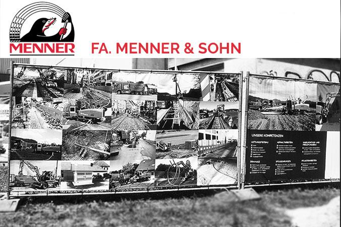 Menner & Sohn Tiefbau Printprodukte