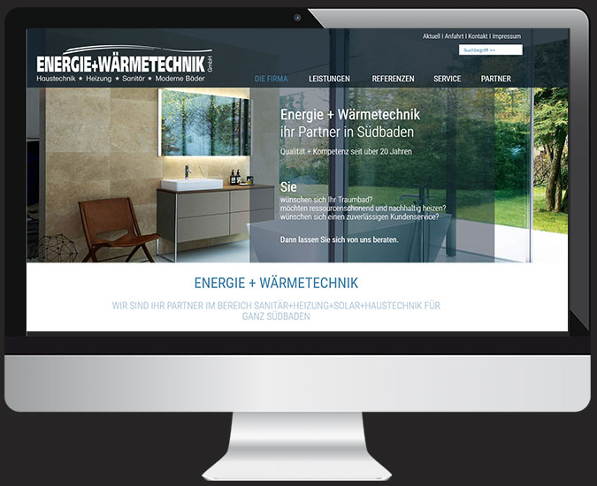 Ansicht Webseite www.kriko.de