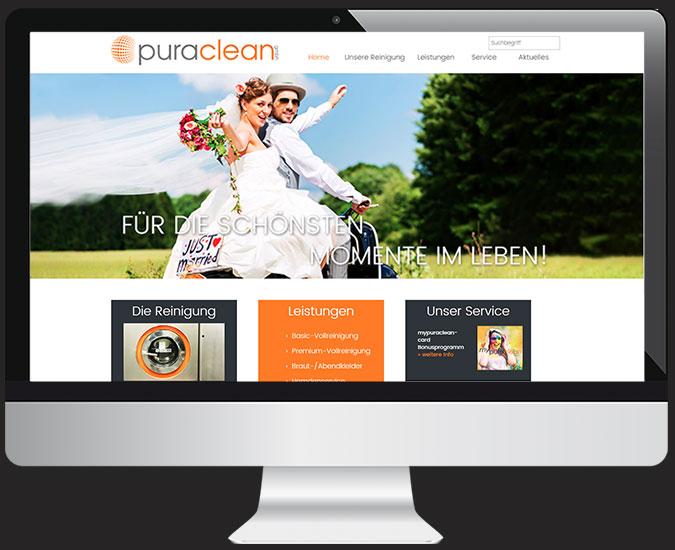 Ansicht Webseite www.mypuraclean.de/