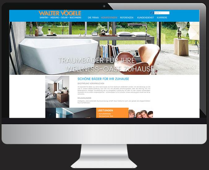Ansicht Webseite www.walter-voegele.de