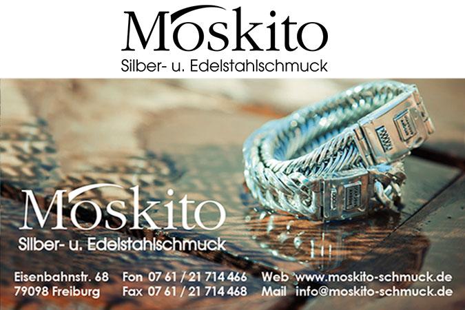 Moskito Silber- und Edelstahlschmuck  Printprodukte