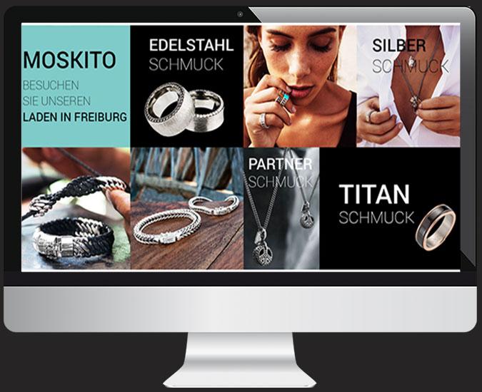 Ansicht Webseite www.moskito-schmuck.de