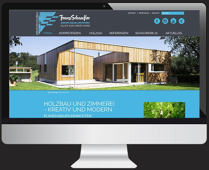 Ansicht Webseite franz-schaufler.de